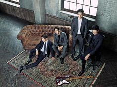 CNBLUE are Charming Men of Fall for 'The Class: Urban Code' | Koogle TV