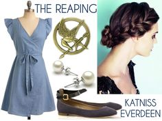 Katniss Everdeen's Reaping outfit. – All About Hairstyles Hunger Games Outfits, Hunger Games Costume, Hunger Games Party, Hunger Games Fandom, Katniss Everdeen Braid, Katniss Hair, Katniss Costume, Disney Bound Outfits, Cosplay Outfits