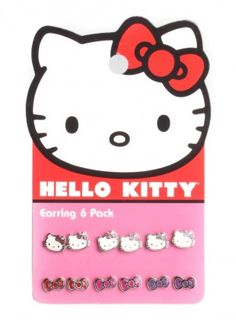Hello Kitty Earring Set $14.00