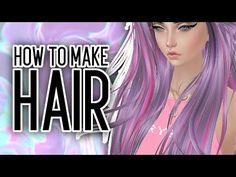 Making Hair Textures | IMVU Tutorial - YouTube