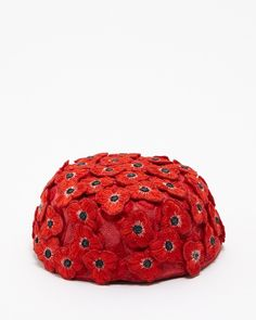 BEAMS WOMEN'S SELECT RED  S203 poppy HAT