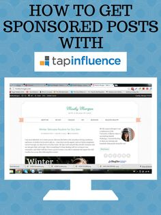 Tap Influence works with incredible brands like ASUS, Schick, Silk, and more. If you are wondering how you can get great sponsored posts through them check out the blog! Pin now so you don't forget!