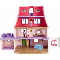 Fisher-Price Loving Family Dollhouse, African American