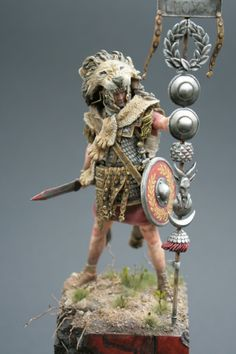 Roman Signifer  painted by Michael Volquarts