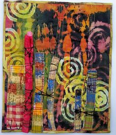 A textile abstract I made about 4 years ago.
