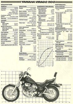 1986 yamaha virago 1100