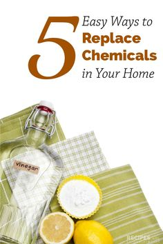 5 Easy Ways to Replace Chemicals in Your Home - Recipes with Essential Oils