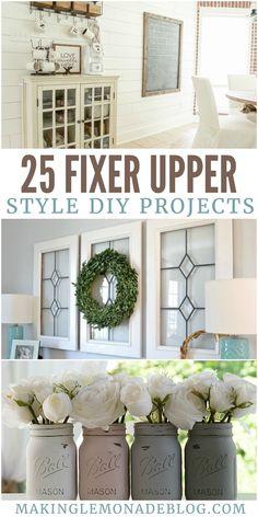 25 Fixer Upper Style