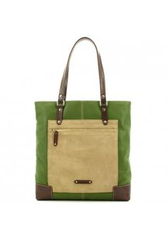 GiGi Fratelli Shopper hoog model Green