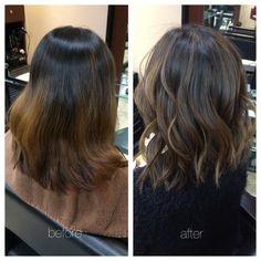 My hair stylist obviously worked a miracle, but my hair was damaged. So, sad story. I had...