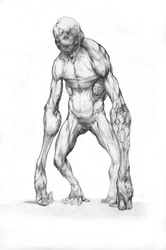 Dark Creatures, Fantasy Creatures, Mythical Creatures, Monster Concept Art, Monster Art, Creature Concept Art, Creature Design, Arte Horror, Horror Art