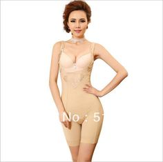 Brand shapewear,High Quality!!Women's Adjustable shoulder strap conjoined body sculpting clothing,lace,slim, breast care--46Y003 $32.00