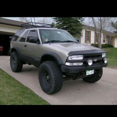 Somehow need to figure out how to get a blazer rear end with spare s10 blazer sciox Images