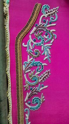 Elegance shocking pink 2106 caftan journey