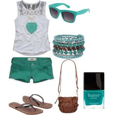"summertime!!  ""Untitled #253"" by annasixxx on Polyvore"