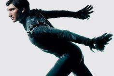 Evan Lysacek - Men's Figure Skating / Ice Skating dress inspiration for Sk8 Gr8 Designs.