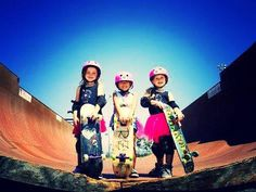 Check out the Pink Helmet Posse. These little girls are kick ass!!