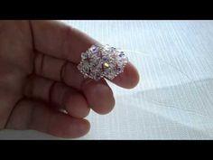 Seconda parte modulo anello e orecchini con swarov - YouTube (2/2)
