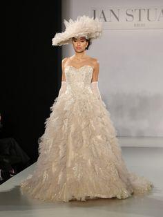 Daring Wedding Dresses From Bridal Fashion Week
