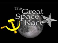The Space Race was a competition between two Cold War rivals, the Soviet Union (USSR) and the United States (US), for supremacy in s. Space Race, Space Exploration, Superhero Logos, Nasa, School Ideas, Legends, United States, Racing, Movie Posters
