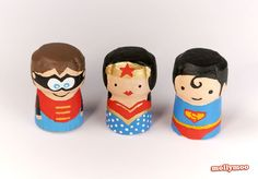 Try it: superhero crafts for kids, wine cork crafts | mollymoo