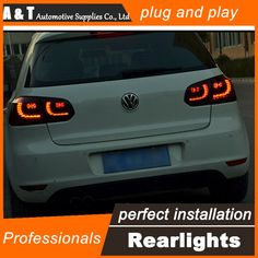 308.00$  Watch here - http://aliyyk.worldwells.pw/go.php?t=32673683637 - A&T Car Styling for VW Golf 6 Taillights 2009-2012 Golf 6 R LED Tail Lamp Golf6 Rear Lamp LED DRL+Brake+Park+Signal led light 308.00$
