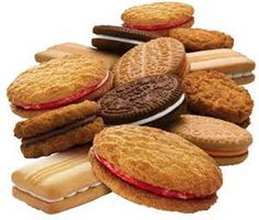 Assorted cream biscuits from Arnotts Australia