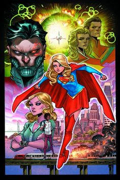 Really enjoying the new rebirth supergirl look. 100% of the reason is because she now looks like my wife.