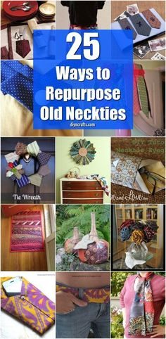 25 Cute Repurposing Ideas To Turn Old Neckties Into Wonderful New Things If You . 25 Cute Repurposing Ideas To Turn Old Neckties Into Wonderful New Things If You … , Upcycled Crafts, Repurposed, Crafts For Teens To Make, Diy Crafts To Sell, Easy Crafts, Adult Crafts, Upcycle Home, Diy Recycle, Recycling Ties