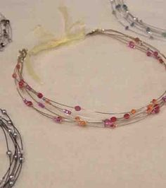 Wire & Crystal Headbanddiy project at Joann