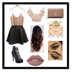 """""""#Platform #Sandals"""" by vehapi-miralema ❤ liked on Polyvore featuring Pilot, GUESS, Yves Saint Laurent, Avon and Lime Crime"""