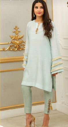 Colours and sizes available Customized dresses Whatsapp on 7027597772 for more details Kurta Designs, Blouse Designs, Pakistani Dresses Casual, Pakistani Dress Design, Indian Attire, Indian Outfits, Fashion Pants, Women's Fashion Dresses, Kurti Sleeves Design