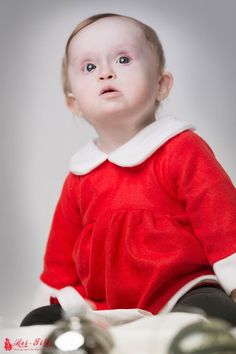 Christmas Child Portrait Special Edition Downsyndrom / Trisomie21