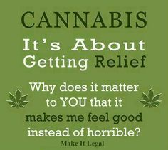 Most people would be better off if they just took a little  #marijuana #cannabis