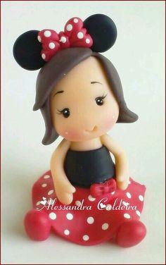 Minnie Mouse niña