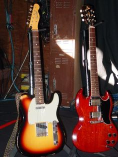 Robben Ford's Telecaster and SG