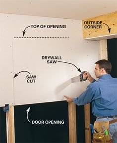 Master the Basics of Drywall: Cutting Drywall