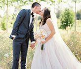 Black Tie Oregon Wedding