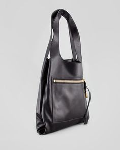 Tom Ford Alexia Zip-Pocket Shoulder Bag - Neiman Marcus