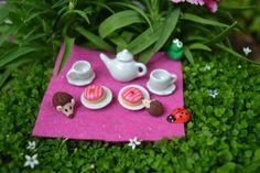 Miniature Fairy Tea Set!