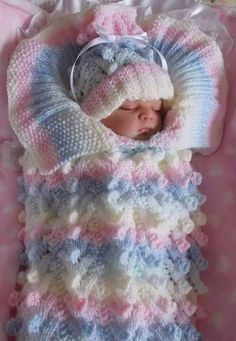 How to Crochet Cable Stitch Newborn Baby Bunting Cocoon s media cache originals fe 81 Angies Angels patterns - exclusive designer knitting and crochet patterns for your precious baby or reborn dolls, handmade, handknitted, bab… This Pin was discovered b Crochet Baby Cocoon, Crochet Bebe, Crochet Baby Clothes, Crochet For Boys, Baby Blanket Crochet, Boy Crochet, Chevron Baby Blankets, Baby Shawl, Baby Vest