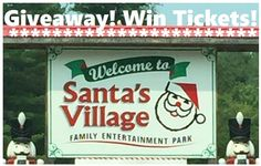 Have You Been Naughty or Nice? Find Out When You Visit Santa's Village in Bracebridge #Giveaway CAN/US