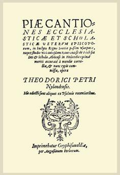 """Piae cantiones (lat., """"hurskaita lauluja""""; koko nimeltään Piae Cantiones ecclesiasticae et scholasticae veterum episcoporum) on kokoelma latinankielisiä teini- eli apupappilauluja, joita laulettiin Suomessa ja Ruotsissa katoliselta keskiajalta 1800-luvulle asti (julk. 1582)"""