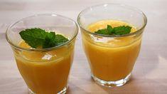 Flytende frukt til den som vil ha noe godt å drikke. Frisk, Cantaloupe, Panna Cotta, Pudding, Baking, Ethnic Recipes, Desserts, Den, Smoothie