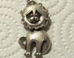 cat charm vintage - Google Search
