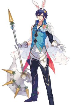 Spring Festival Chrom from Fire Emblem: Heroes