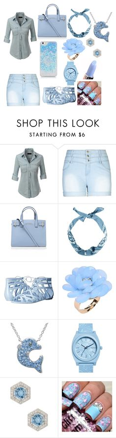 """water"" by xoxoqueenlove on Polyvore featuring LE3NO, City Chic, Kurt Geiger, Dirty Laundry, Dettagli, Nixon, Nordstrom Rack, women's clothing, women and female"