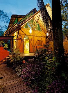 The Tree House Lodge in Costa Rica.