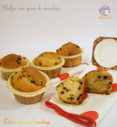 Muffin gocce cioccolato, ricetta facile :-)