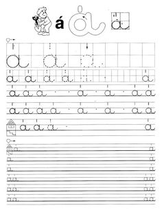 Jobb- és balkezes betű és szám gyakorlófüzet - Borka Borka - Picasa Webalbumok Handwriting Worksheets, Tracing Worksheets, Preschool Worksheets, Preschool Activities, Free Worksheets, Home Learning, Fun Learning, Alphabet Cards, Teaching Tips